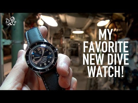 The Best NEW $1200 Dive Watch? A Future Classic: Squale 30ATMOS Review