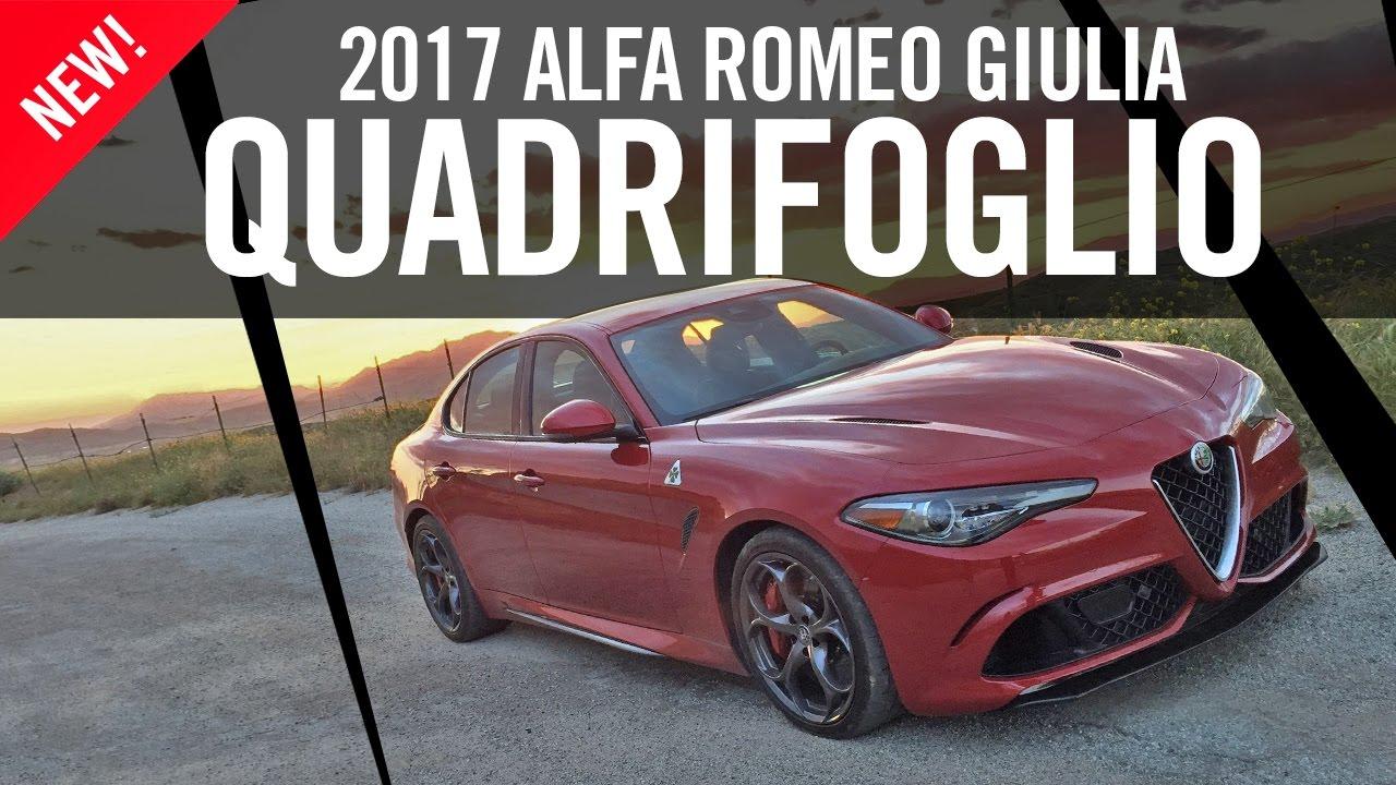 Alfa Romeo Giulia Quadrifoglio Test Drive Review 4k Youtube