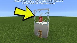 COMO FAZER UMA MÁQUINA DE REFRIGERANTE SEM MODS ! (Minecraft Pocket Edition 1.0)