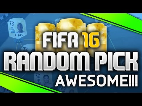 Awesome Cheap Legend! The Random Pick #19 (FIFA 16 Ultimate Team)