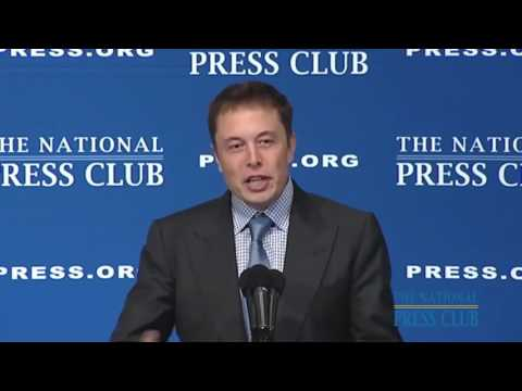Elon Musk - Reusable Rockets - The Conference Science