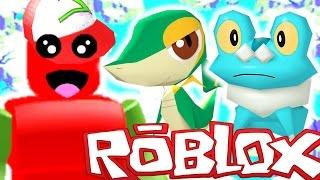 Roblox Adventures / Pokemon Brick Bronze / SUPER RARE STARTERS?!?