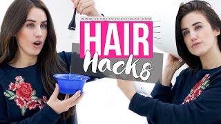 HAIR HACKS TESTED   PATRY JORDAN