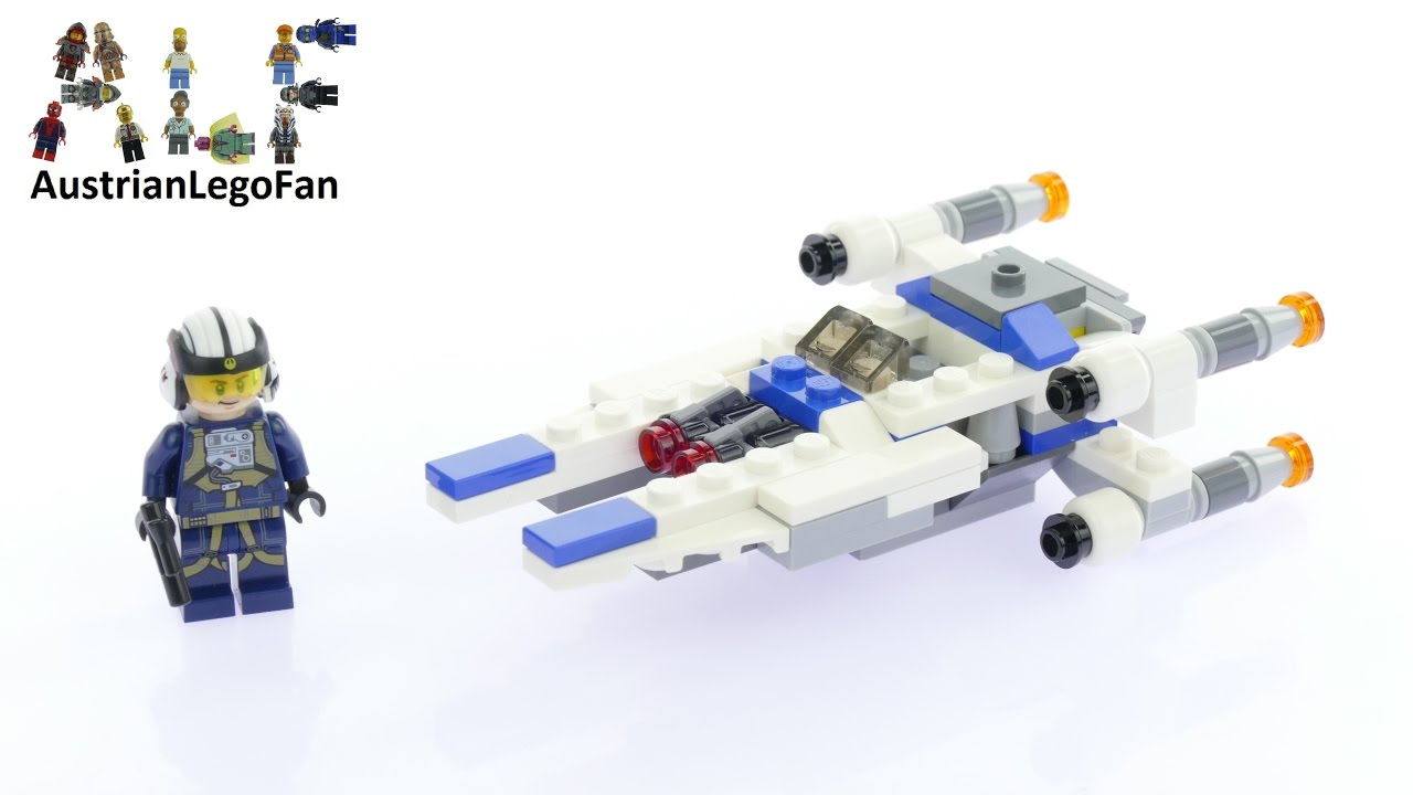 LEGO U-Wing Microfighter W Instruction Book No Minifig 75160
