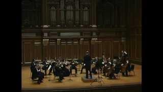 Jeremy Beck: Sinfonietta for string orchestra, mvt. I (Allegro furioso)
