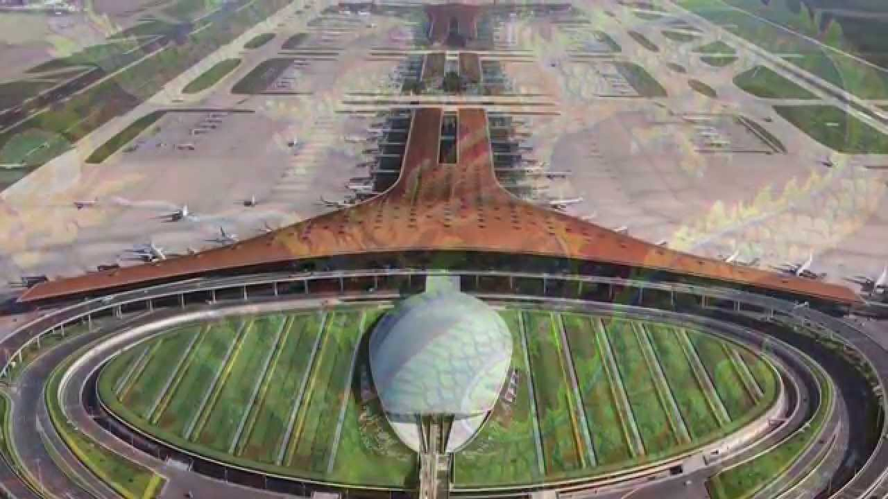 New International Airport For Mexico City By Foster Partners And - Airports in mexico