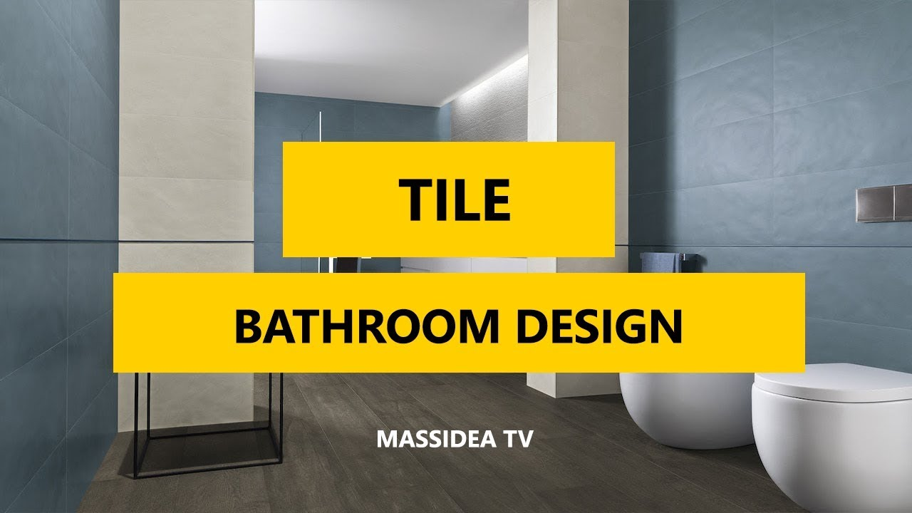 50+ Best Creative Tile Bathroom Photos Design Ideas 2018 - YouTube