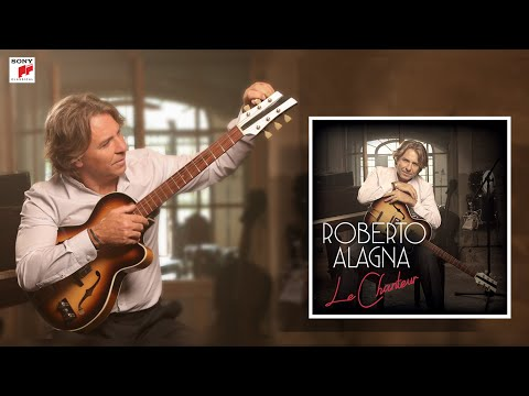 Roberto Alagna   Recording CD  'Le Chanteur'  [The Singer] (EPK) - English Subtitles Available