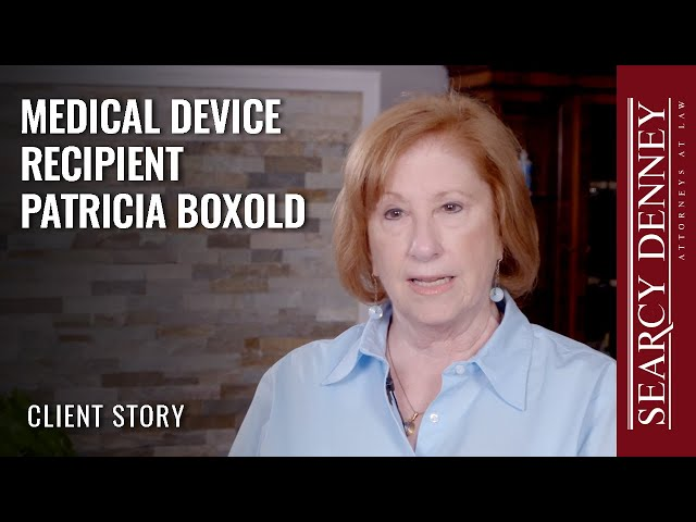 Medical Device Recipient Patricia Boxold