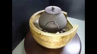 茶釜 風炉釜  良い風合いの茶道具