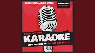 Dizzy (Originally Performed by The Goo Goo Dolls) (Karaoke Version)