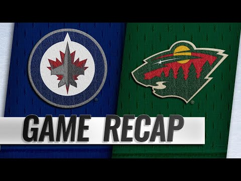 Zucker's two goals lift Wild to 3-2 win against Jets