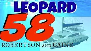 Leopard Catamaran 58