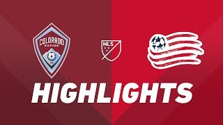 Colorado Rapids vs. New England Revolution | HIGHLIGHTS - July 4, 2019