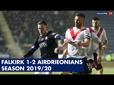 Falkirk 1-2 Airdrieonians | Highlights