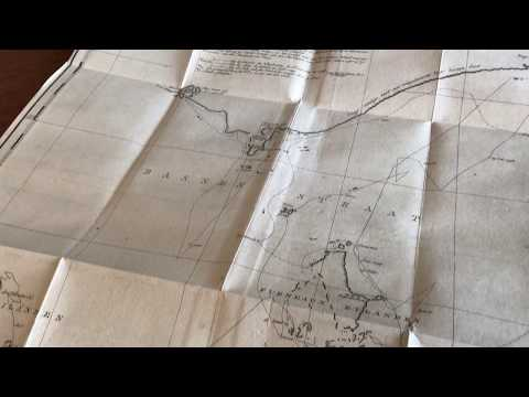 Australia Flinders NSW New South Wales 1801 Large Old Map Chart Dutch