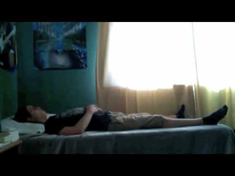 Spontaneous spine/body movements during meditation (please read description)