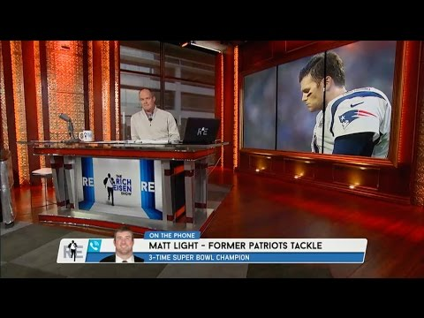Former Patriots Tackle Matt Light Talks Tom Brady & Deflategate on The RE Show - 5/21/5