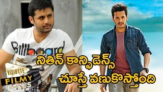 nithin not stepping back with akhil movie