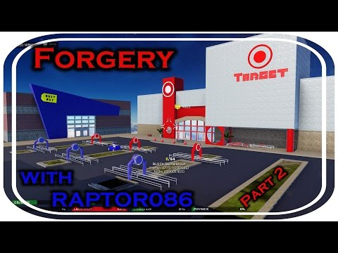 More Forgery with Raptor086 - Parking Lot Wars! (Walmart vs. Target)