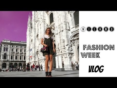Milano Fashion Week spring/summer 2017 VLOG / Anastasija Stasha