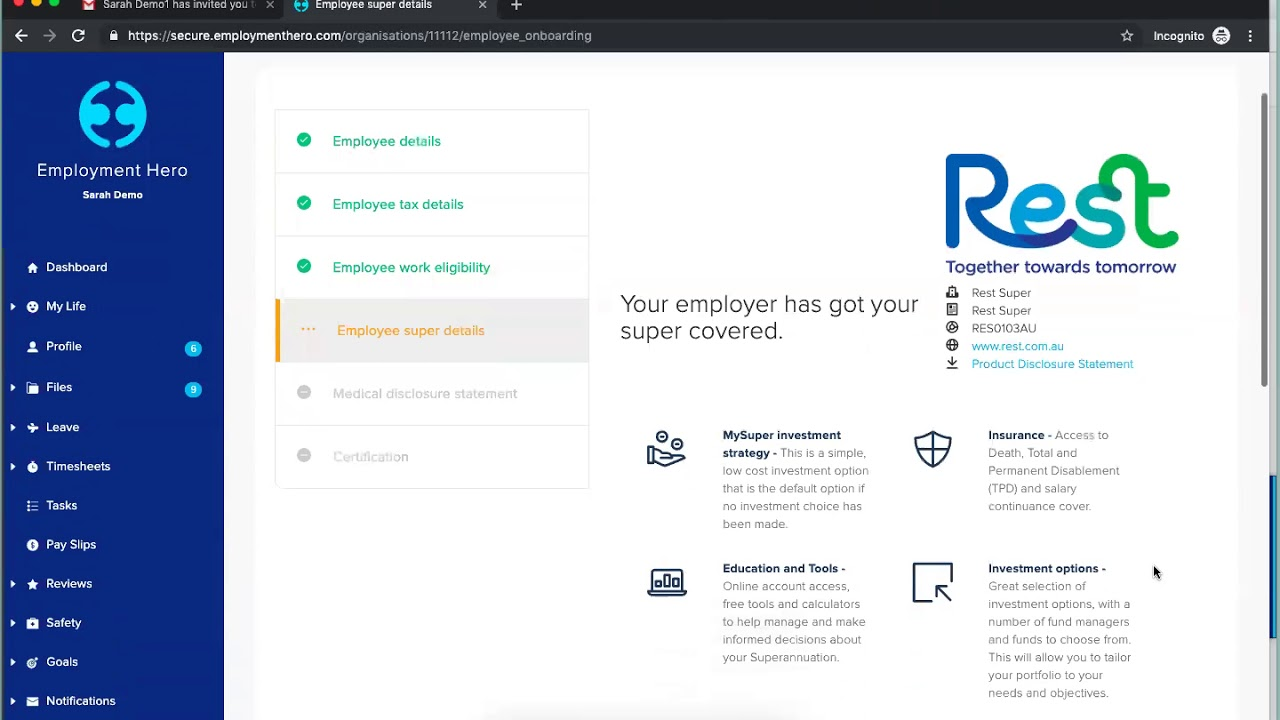 HR Software Product Demo | Employment Hero April 2019