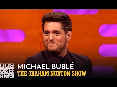 Michael Bublé Wants His Friends To Stop Sending Him His Meme | The Graham Norton Show | BBC America