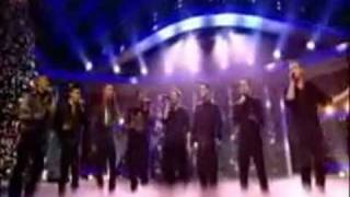 JLS & Westlife - Flying Without Wings - X-Factor Finale 2008 - *HQ* Good quality