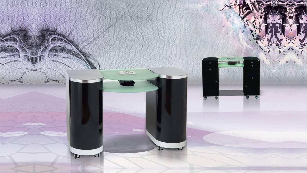DIR - Salon Furniture Beauty Equipment – Manicure Stations - YouTube