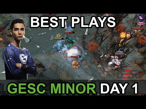 GESC Indonesia Minor 2018  BEST PLAYS Day 1 Highlights by Time 2 Dota #dota2