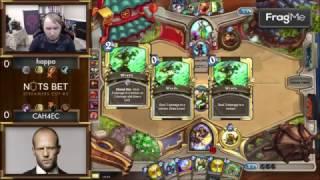 Happa vs CAH4EC Hearthstone Турнир стримеров NutsBet Cup 3