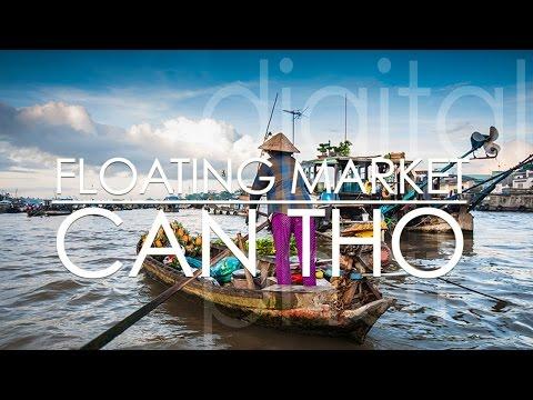 Cai Rang Floating Market - Can Tho - Mekong Delta