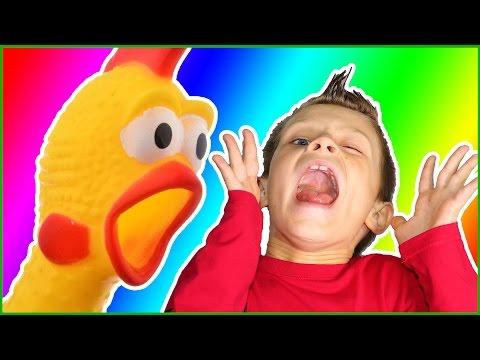 CRAZY CHICKEN SCREAM!!!