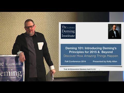 Kelly Allan - Deming 101: 2015 & Beyond