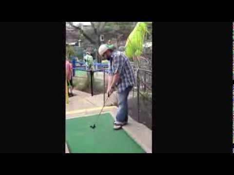 Peter Pan Mini Golf Austin Tx Youtube