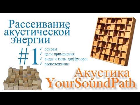 YourSoundPath - Рассеивание акустической энергии #1