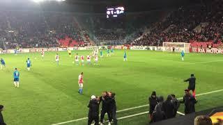 M. Stoch: SK Slavia Praha - Zenit Petrohrad 2.gól