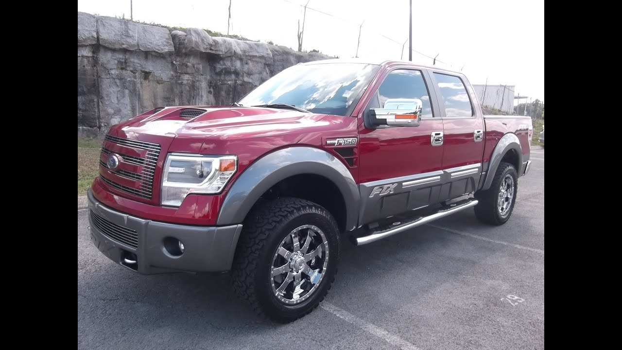 2013 FORD F-150 FTX BY TUSCANY TWO TONE RUBY RED/STERLING GRAY AT FORD