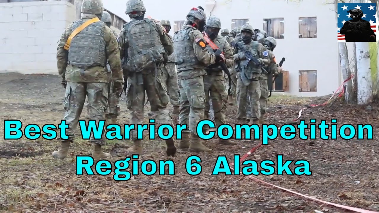US Army • Best Warrior Competition • Region 6 Alaska Footage