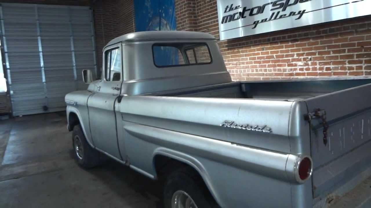 Truck 1955 chevy apache truck for sale : BARN FIND!! 1959 Chevrolet Apache Napco Half Ton ShortBed ...