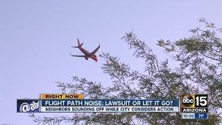 Flight path noise: How bad is it?