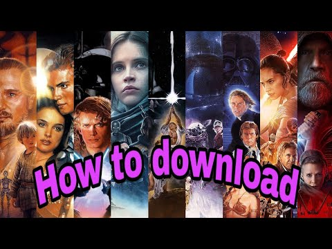 "How To Download ""Star Wars 1,2,3,4,5,6,7,8 "" Full Movie In HD Quality (Hindi/English)"