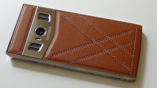 DOOGEE T3. Кожаный смартфон в металле / Арстайл /