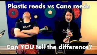Cane vs. plastic reeds — can YOU hear the difference?