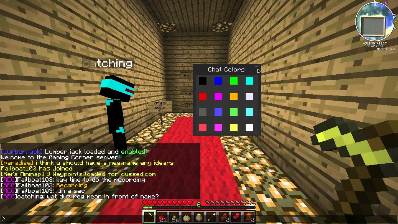 how to change sign color in minecraft pc
