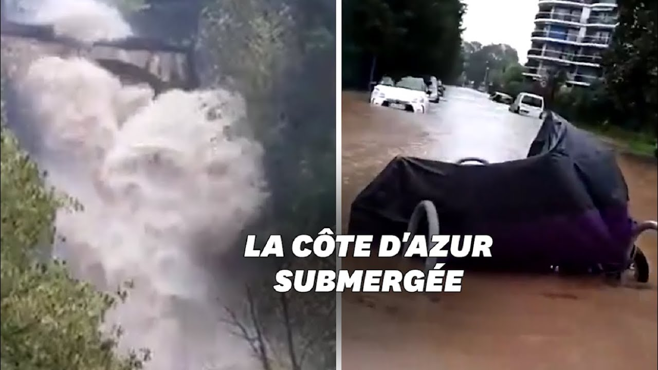NOVEMBRE 2019: Les images impressionnantes des intempéries dans le Var et les Alpes-Maritimes