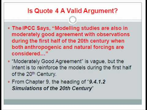 The IPCC Says... Part 1 (A Discussion About Attribution)