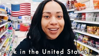 First time back in the US since moving to London! | WALMART & TARGET RUN