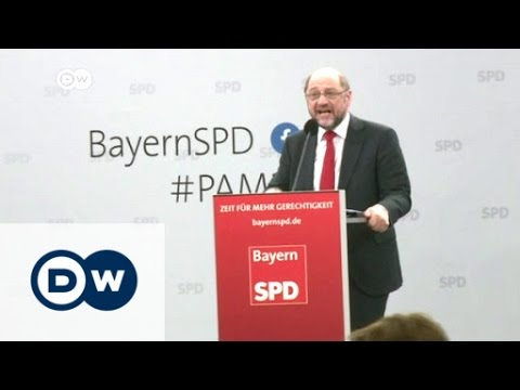 Social Democrat Schulz fires up his base | DW News