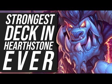 The Strongest Deck In Hearthstone EVER?! - Galakrond Shaman   Standard   Hearthstone